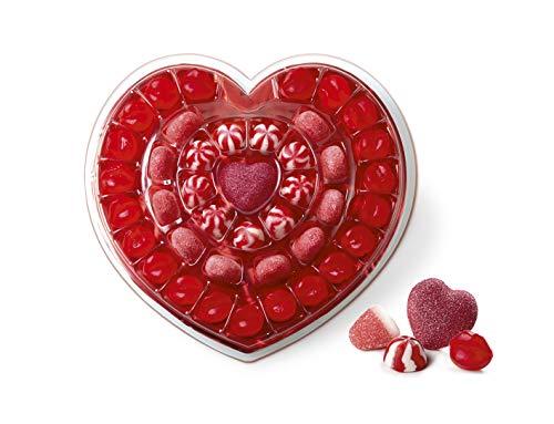 Gommy's Factory Regalo de Gominolas con Forma de Corazón, 41 Golosinas, 250 Gramos
