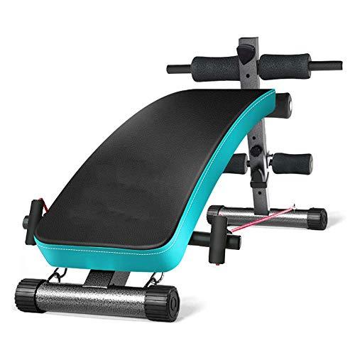 YLCJ Taburete con Mancuernas Home Fitness Chair, Supine Board, Abdominal Board, Comfortable Sponge Board, Fuerte Capacidad de Carga, Equipo de Fitness Multifuncional