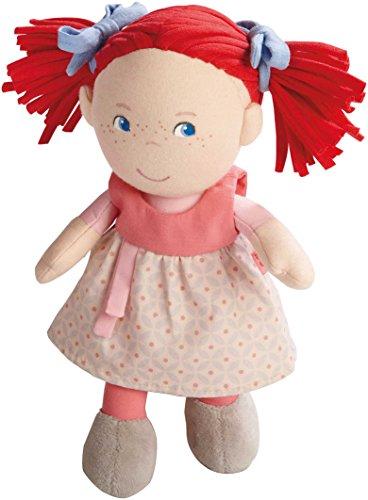 Haba 5737 - pop Mirli zachte stoffen pop, voor baby's vanaf 6 maanden om te spelen, knuffelen en troosten, ideaal cadeau voor geboorte en doop, levering in hoogwaardige geschenkverpakking