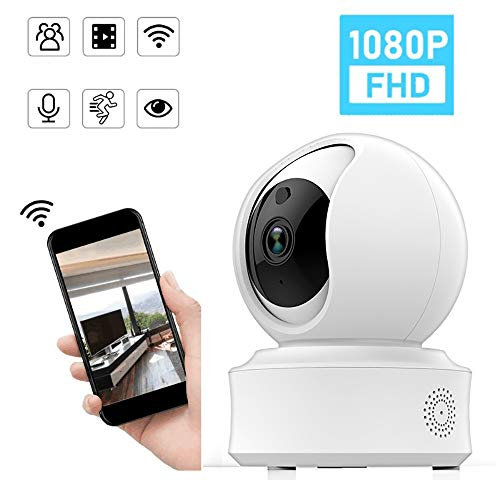 Beveiliging IP-camera Dome Externe camera Huisdier Camera met cloud opslag Bidirectionele audiobewegingsdetectie Nachtzicht Externe bewaking Draadloze beveiligingscamera Babyfoon
