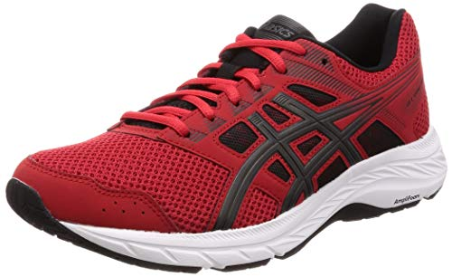 ASICS Herren Gel-Contend 5 Laufschuhe, Rot (Classic Red/Dark Grey 600), 40 EU