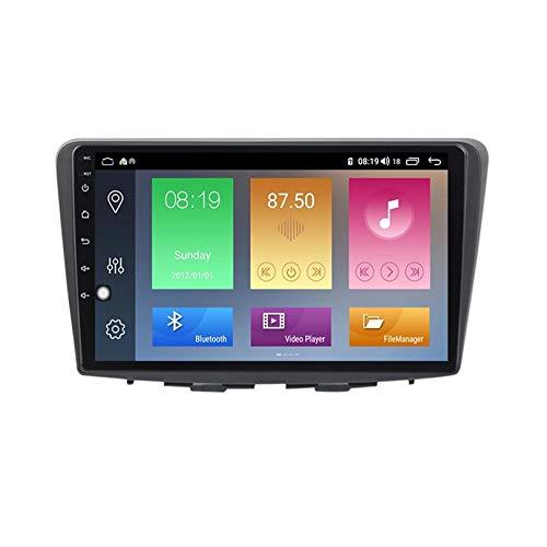 ADMLZQQ Autoradio Android 10.0 Radio für Suzuki Baleno 2015 2016 2017 2018 4G 5G GPS-Navigation 9 Zoll Unterstützt DSP mit vollem AV-Ausgang, integriertes Carplay + Auto,M100
