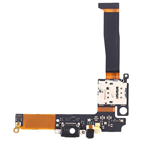 EASON Espacio -Carga del Cable Flexible del Puerto con la Toma del Soporte de la Tarjeta SIM para Nokia 8 Sirocco Bandeja