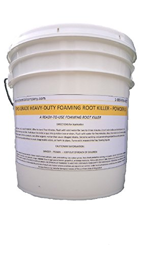 Patriot Chemical Sales 10 Pounds Foaming Root Killer Powder Industrial Strength