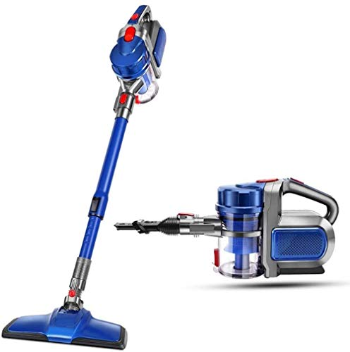 Wireless Vacuum Cleaner/Household Vacuum Cleaner / 2 in 1,40min Long Battery Life, 270° Rotating Brush, 8000Pa Strong Suction, 0.8L Capacity, Ergonomic Handle (Blue) LUDEQUAN
