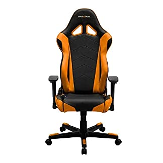 Silla dxracer r-series oh/re0/no negra-naranja dxracer racing