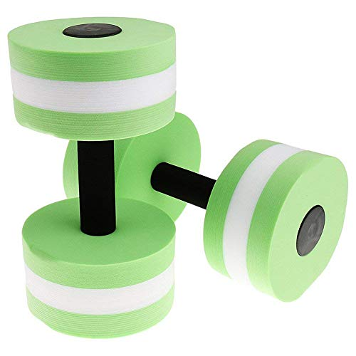 XZANTE Eva Watersport Dumbbell per Fitness Acquagym in Acqua Nuoto in Palestra