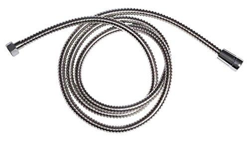 Tendance – Extensible Tuyau Flexible, en Acier Inoxydable, Chrome, 30 x 30 x 30 cm