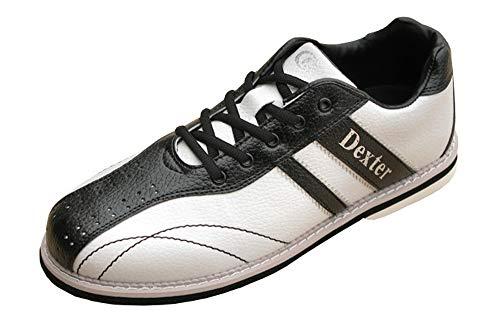 (デクスター) ボウリングシューズ Ds38 ホワイト・ブラック 28cm 右投げ 【ボーリング シューズ】