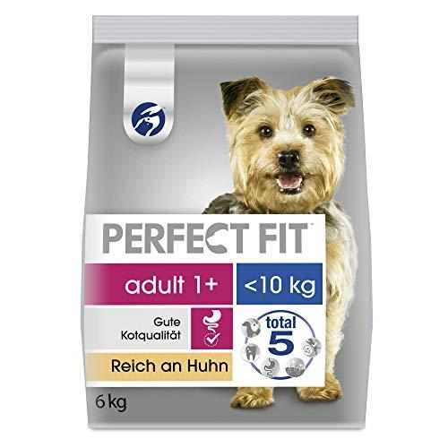 Perfect Fit Hundefutter Trockenfutter Adult für kleine und sehr kleine Hunde (XS/S) mit Huhn, 6 kg