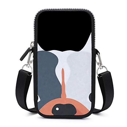Bolso bandolera para teléfono móvil con correa para el hombro extraíble, grandes...