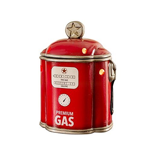 Scentsationals Retro Collection - Gas Pump - Scented Wax Warmer - Vintage Car Station Wax Cube Melter & Burner - Electric Fragrance Home Air Freshener Gift