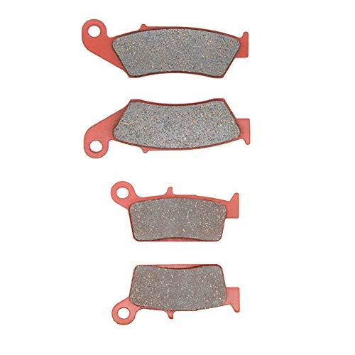 MEXITAL Bremsbeläge Vorne + Hinten für YZ 125 YZ 250 (98-02) / YZ 250 F WR 250 F (4T)(01-02) / WR 400 F(99-01) WR 426 F(01-02) YZ 426 F(00-02).