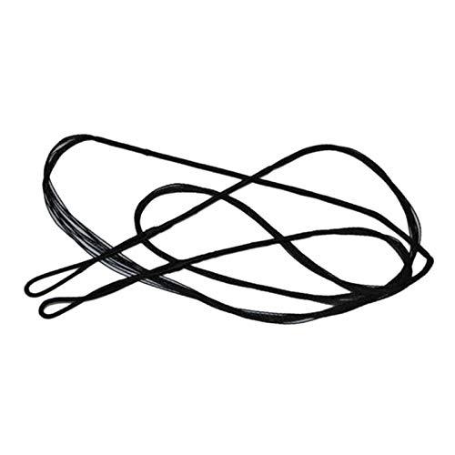 JVSISM Cuerda de Lazo Personalizada Hecha a Mano Arco Recurvo Arco Largo Tradicional 12 Hilos (66 Pulgadas)