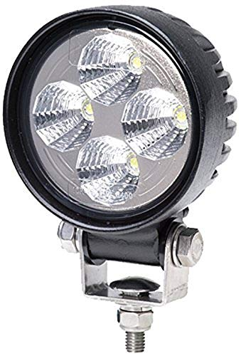 Hella 1G0 357 000-011 Arbeitsscheinwerfer - Round Valuefit - LED - 12V/24V - 600lm - geschraubt - Nahfeldausleuchtung - offene Kabelenden