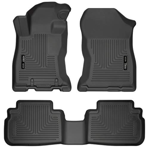 Husky Liners Fits 2019-20 Subaru Forester Weatherbeater Front & 2nd Seat Floor Mats
