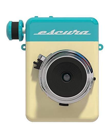 チェキ Escura インスタントカメラ (ブルー)