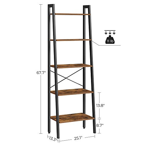 VASAGLE Ladder Shelf, 22.1