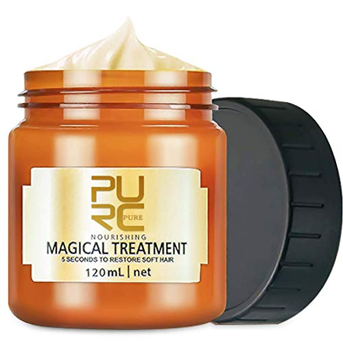 PURC Magical Hair Treatment Mask, Advanced Molecular Hair Roots Treatment Professtional Hair Conditioner, 5 Seconds to Restore Soft, Deep Conditioner Suitable for Dry & Damaged Hair