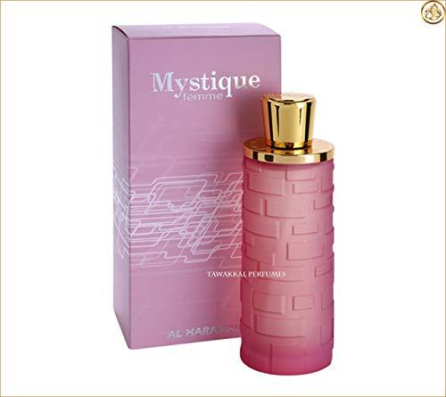 Al Haramain - Perfume Mystique Pour Femme, con vaporizador, 100 ml