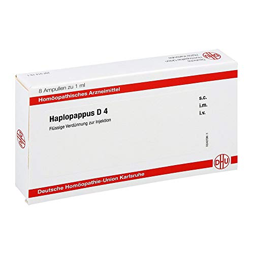 Haplopappus D 4 Ampullen 8X1 ml