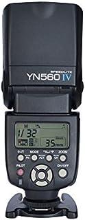 YONGNUO YN560 IV مصباح إضاءة سريع لاسلكية + فلاش صلب + نظام زناد مدمج لكاميرا Canon Nikon Pentax Olympus Panasonic الرقمية
