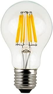 HC Lighting - 12V Low Voltage Input Clear A19 Decorative Style LED Light Bulb 5W Medium Standard E26 Screw Base Retro Fit Light Bulb (5 Watt) (1/PK) (A19 Style)