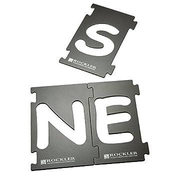 Rockler 2-1/4  Interlock Signmaker s Letter Kit