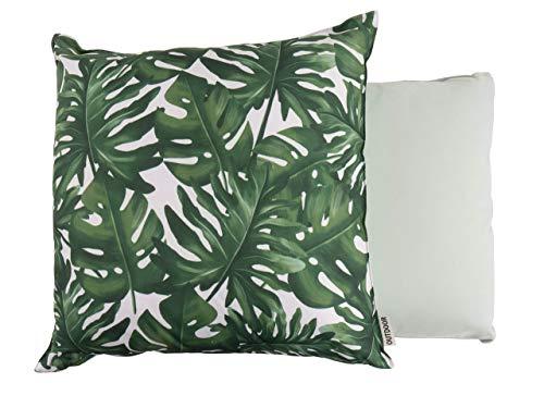 CB Home & Style Outdoor Garten Kissen Wasserabweisend 45 x 45 cm Tropical (Blätter1)