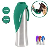 PupFlask Portable Water Bottle | 27 or 40 OZ Stainless Steel | Convenient Dog Travel Water Bottle...