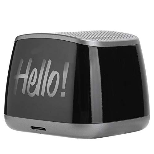 Altavoz inalámbrico Mini altavoz de sonido envolvente, con puntas de goma, capacidad de batería de 1200 mAh, hecho de alta calidad