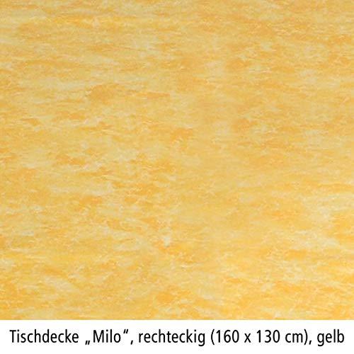 BEST 09840691 tafelkleed vierkant 160 x 130 cm, geel