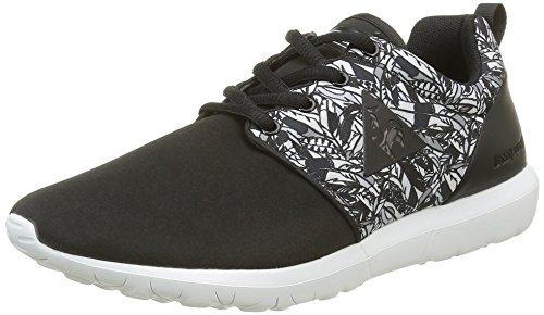 Le Coq Sportif Damen Dynacomf Feathers Sneakers, Schwarz (BlackBlack), 40 EU