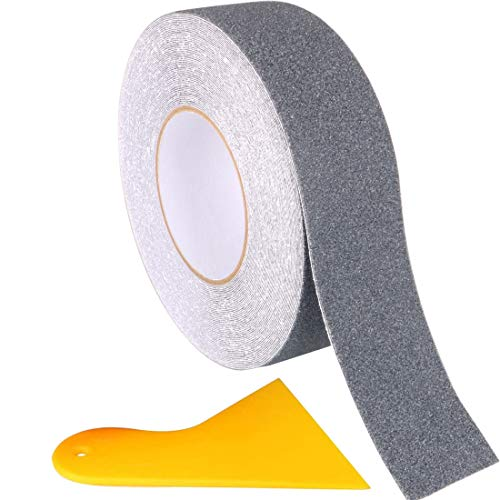 Gebildet 20m x 5cm Antideslizante Cinta adhesiva Alta Tracción Fuerte Apretón Abrasivo...