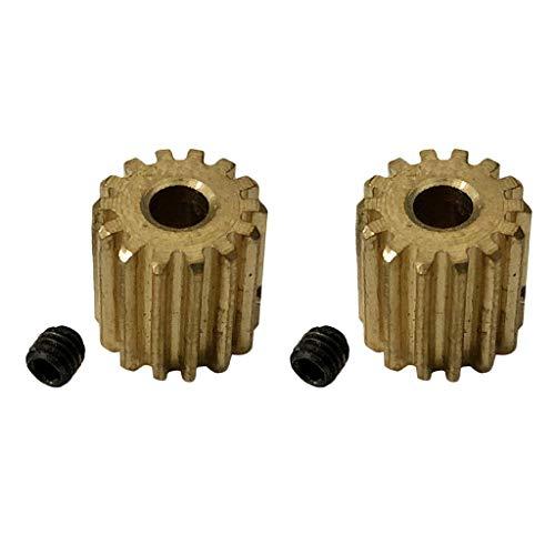 lahomia 2X RC Cars Gear Motor Gear Set Repuestos para Xinlehong Q901 Q902 Q903