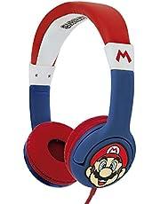 OTL-Cuffie-SUPER MARIO CHILDREN'S-Bambino - Not Machine Specific, Multicolore