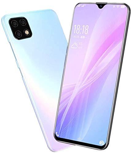 "Smartphone Offerta del Giorno, Offerte Cellulari 4G/WIFI 3GB RAM 32GB ROM - 6.2""HD+ Schermo - Dual SIM - Face ID (Blu-2)"