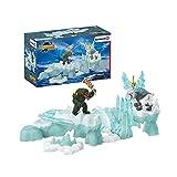 Schleich 42497 Eldrador Creatures play set - ataque a la fortaleza de hielo, juguetes a partir de 7 años