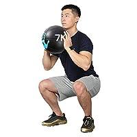 メディシンボール カラーパームパターンバランストレーニングボール、1kg / 2kg / 3kg / 4kg / 5kg / 6kg / 9kg / 9kg / 10kg (Size : 8kg/17.6lb)