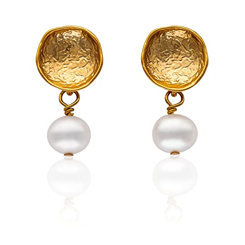 Tamii-Jewelry Perlen-Ohrringe gold Bild