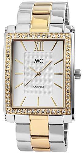MC Timetrend Damen Analog Quarz Uhr mit Messing Armband 51769