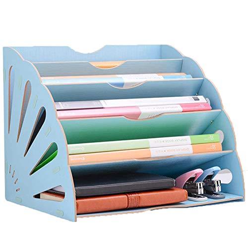 Dokumentenablage Papierablage Schreibtisch Holz, Schreibtischorganisator, Briefablagen, Büro Schreibtisch Organizer, Für Akten, Papier, Documentbrief, Für Zuhause Oder Büro