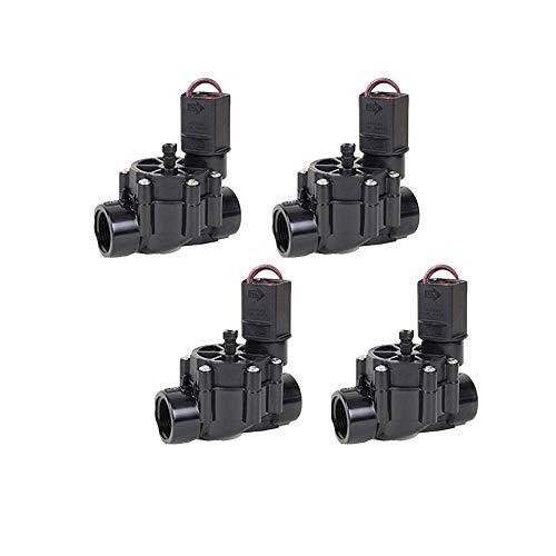 ELECTROVALVULA de RIEGO atornillada para PROGRAMADORES DE PILAS de cualquier marca 9V 1 para Hunter y Rain Bird (Pack de 4 Unidades)