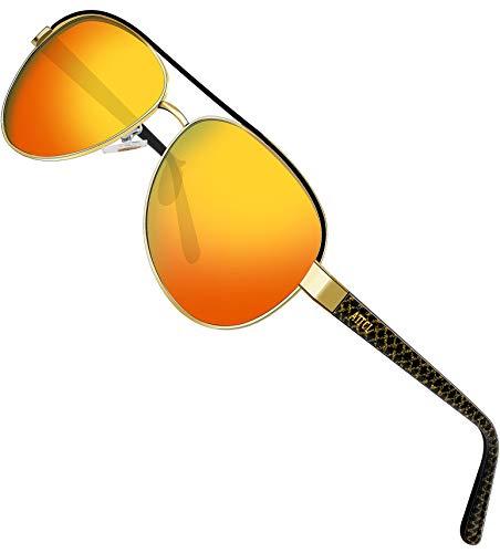 ATTCL sunglasses -  Occhiali da sole  - Uomo Yellow M