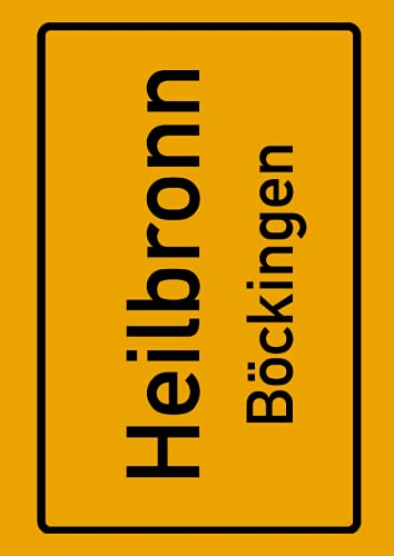Heilbronn Böckingen: Deine Stadt, deine Region, deine Heimat! | Notizbuch DIN A4 kariert 120 Seiten Geschenk