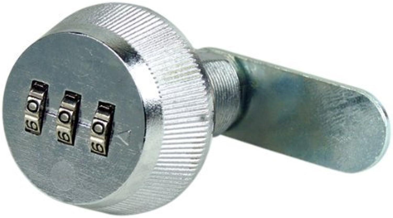 Combi-Cam 7850R-L Chrome Chrome Chrome Large 1-1 8  Combi-Cam Combinated Cam Lock by FJM Security Products (English Manual) B00O1DLE2U | Verrückter Preis  6ab744