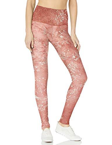 Onzie Damen High Rise Graphic Yoga-Hosen, Kupferkonstellation, S/M