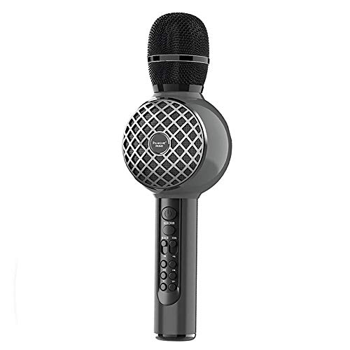 Why Should You Buy Fashion Sport Dynamic Karaoke Microphone, High Power 5W Metal Handheld Mic Compat...