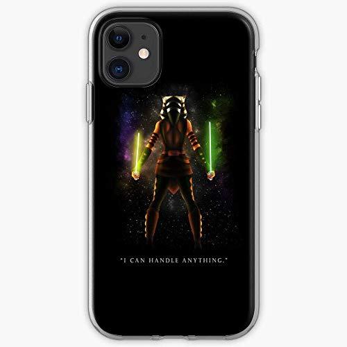 TIINTEXBA Compatible with iPhone 12/12 Pro MAX 12 Mini 11 Pro MAX SE X XS MAX XR 8 7 6 6s Plus Case Anakin Star Ahsoka Tano Padawan War Clone Rex Phone Cases Cover