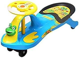 Kids Swing Car Ride On, Blue